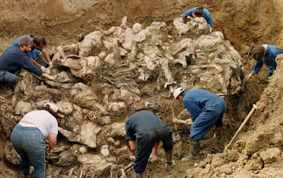Srebrenica Massacre, Genocide of over 8,000 Bosniaks. July 11, 1995.