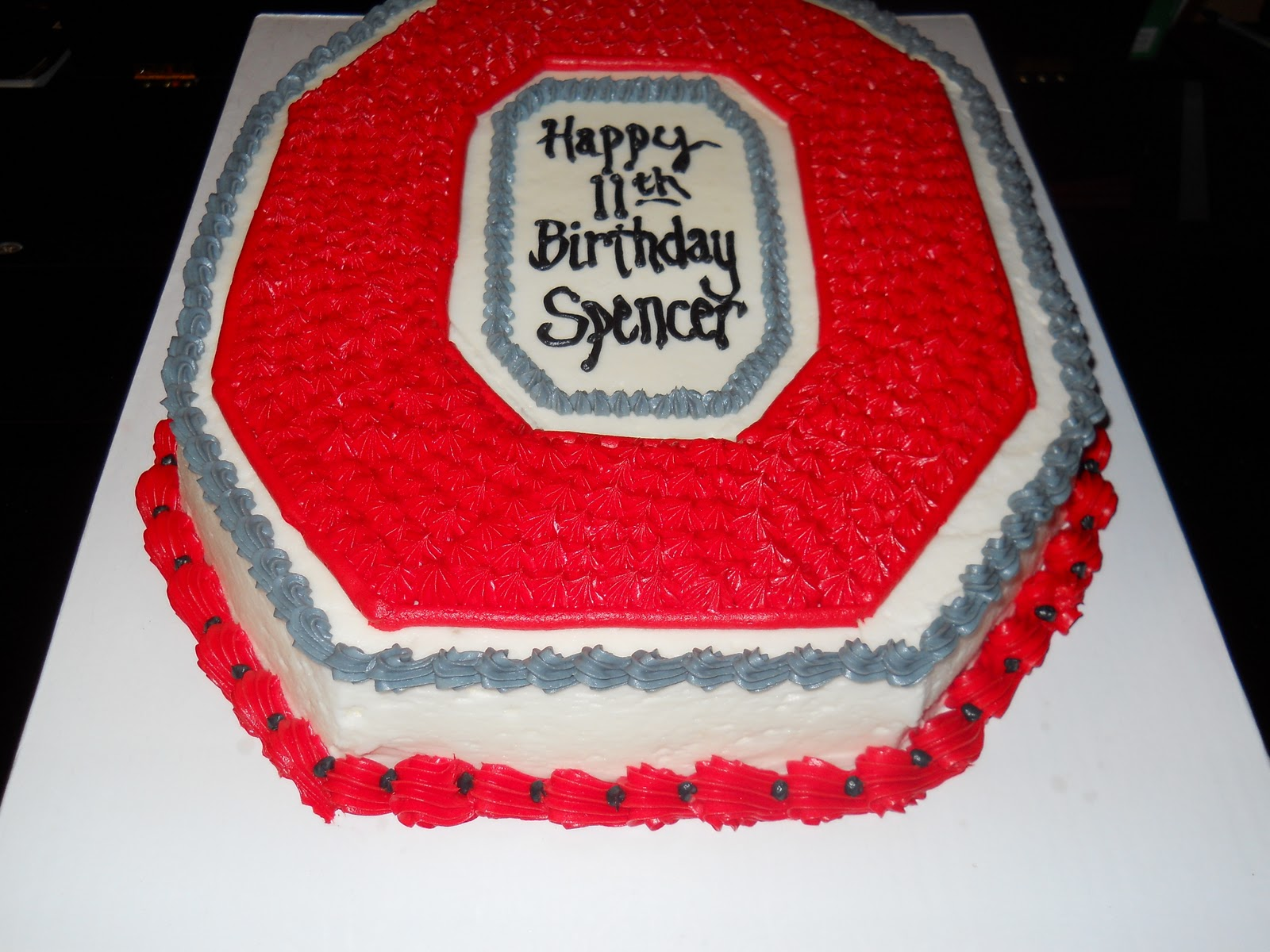 Le Mie Cose Favorites Ohio State Birthday Cake