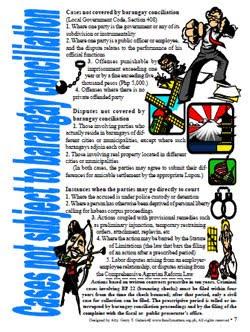 Free PDF legal procedures cases not subject to Katarungang Pambarangay