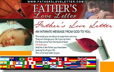 Click here to view Father's Love letter Flash movie