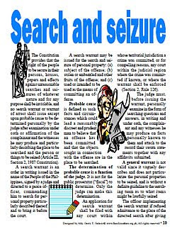 Free PDF legal procedures search and seizure