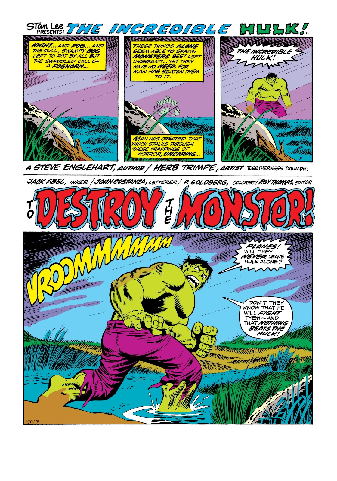 Read online Marvel Masterworks: The Incredible Hulk comic -  Issue # TPB 9 (Part 3) - 18