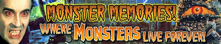 Visit my other blog: Monster Memories!