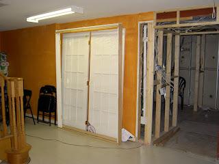 Home Theatre Room French Door