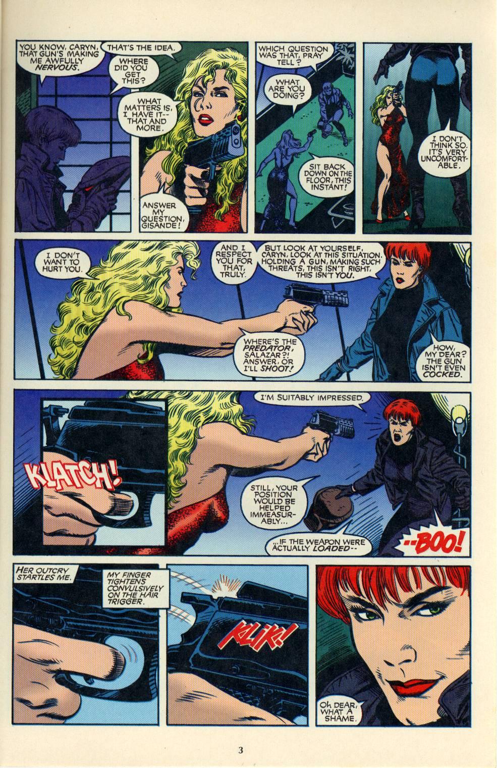 Read online Aliens/Predator: The Deadliest of the Species comic -  Issue #4 - 4