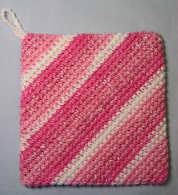 Hooked on Needles: Crocheted Hot Pad/Potholder - It's ...
