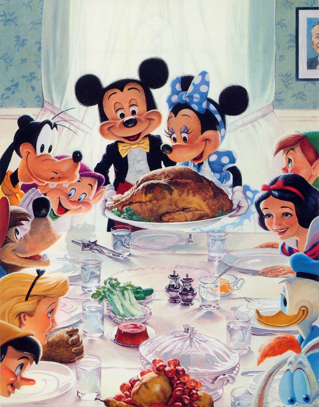 Disney Weirdness: Happy Thanksgiving!
