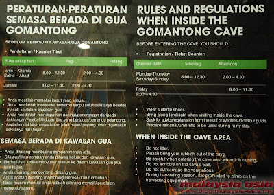 Information for Gomantong Caves