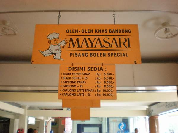 Mayasari Bakery Bandung