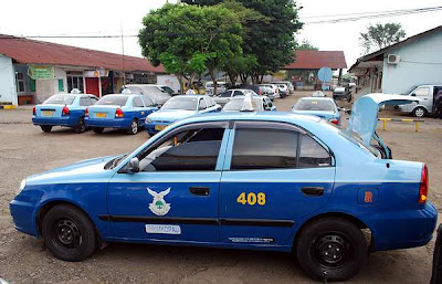 Airport taxi in Bandung