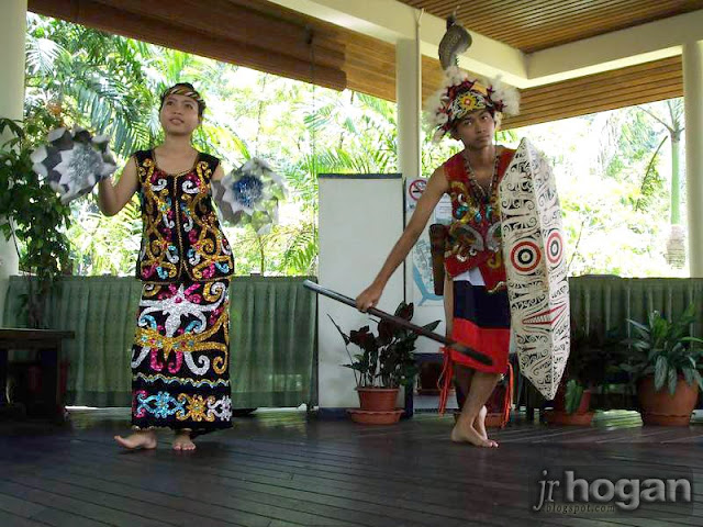 Mulu Resort Welcome Dance Penan People