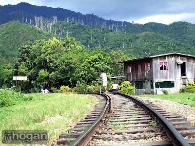 Train Tracks at Padas River Pangi