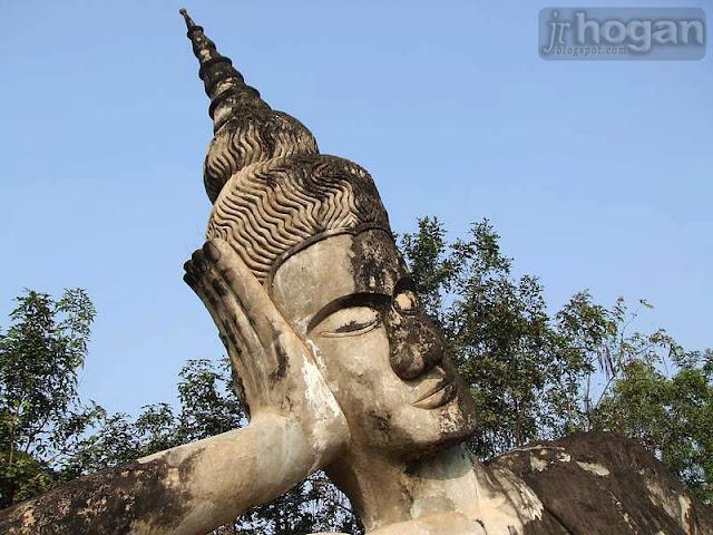 Buddha Park Strange Statues