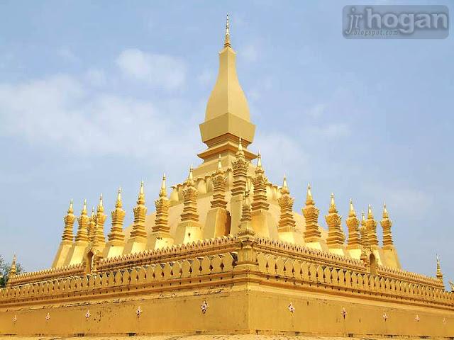 Vientiane Golden Stupa Temple