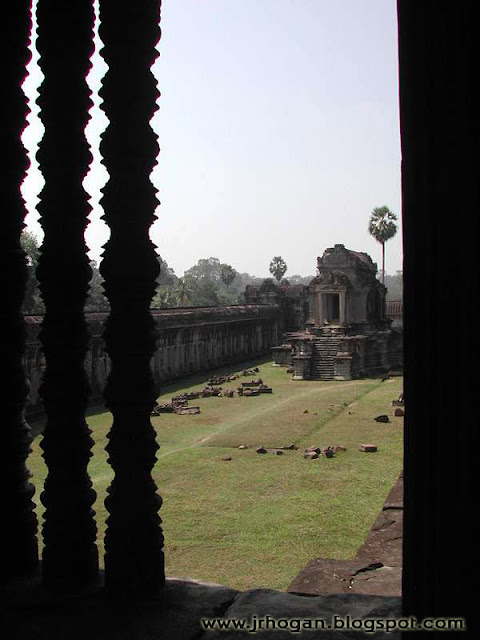 Angkor Wat Temple Window View
