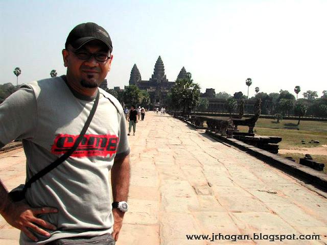 Selfie at Angkor Wat