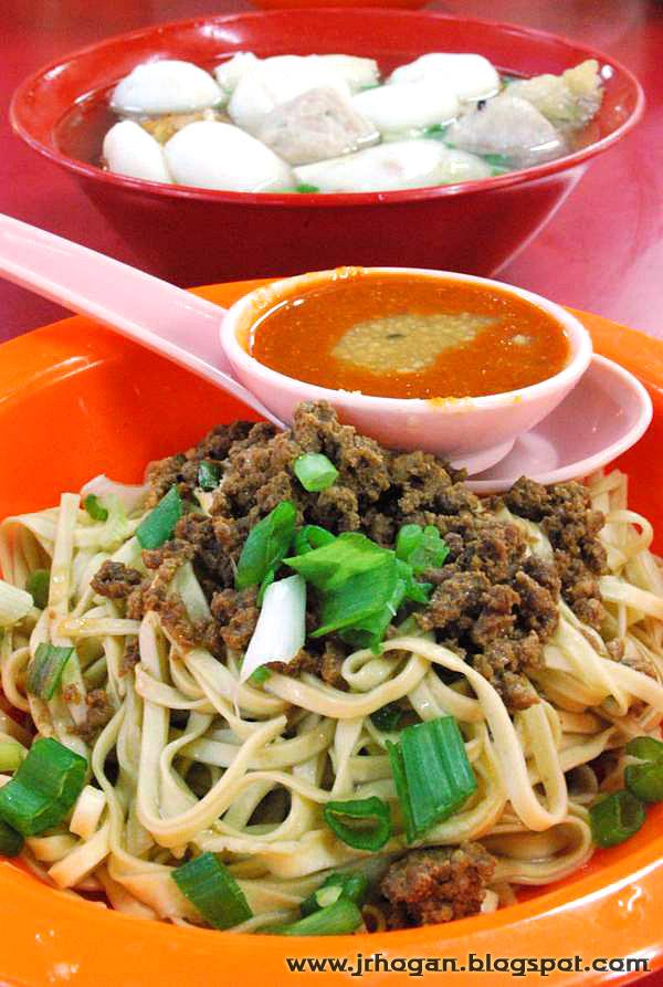 Hakka Noodles Ipoh Style