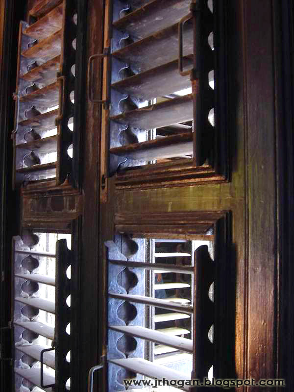 Penang Wood Louvered Windows