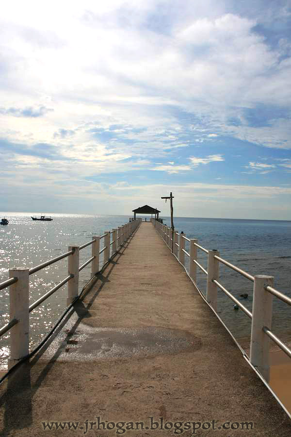 Jetty of Kampung Paya Tioman