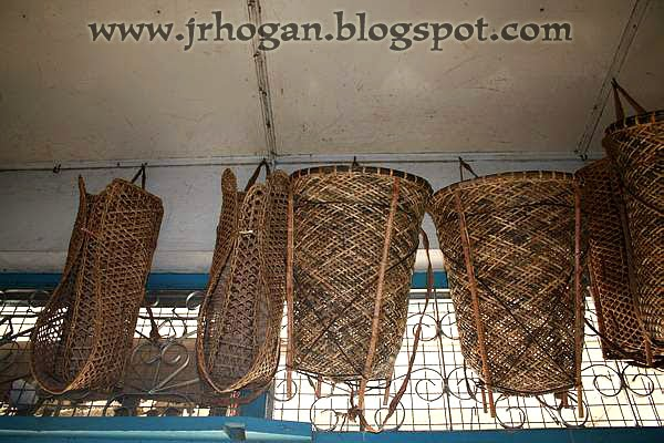 Iban weaved baskets