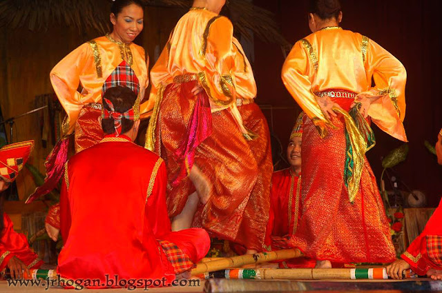 Traditional Dance Melanau People