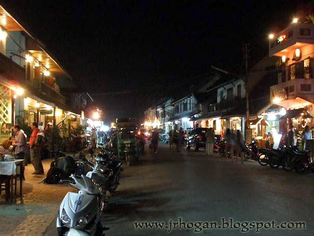 Night Photo of Luang Prabang