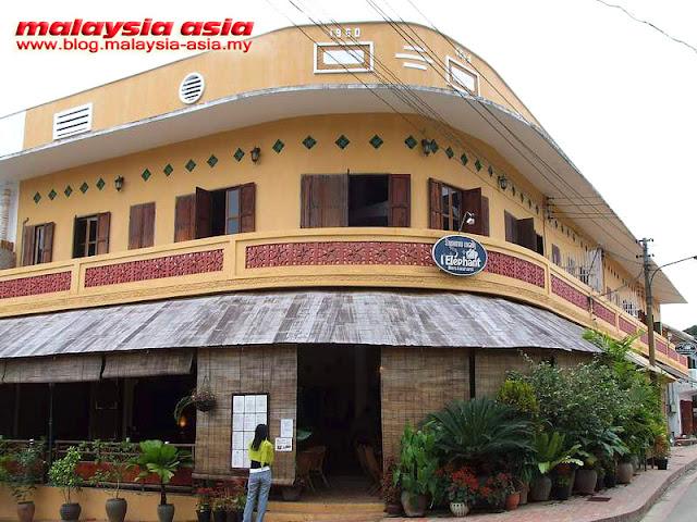 Luang Prabang L'Elephant Restaurant
