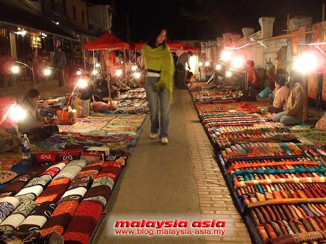 Market in Luang Prabang