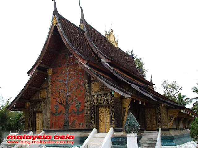Area of Wat Xieng Thong temple