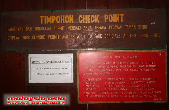 Checkpoint Timpohon Gate