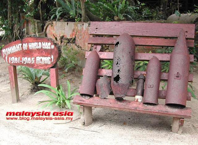 World War 2 Bombs Sabah