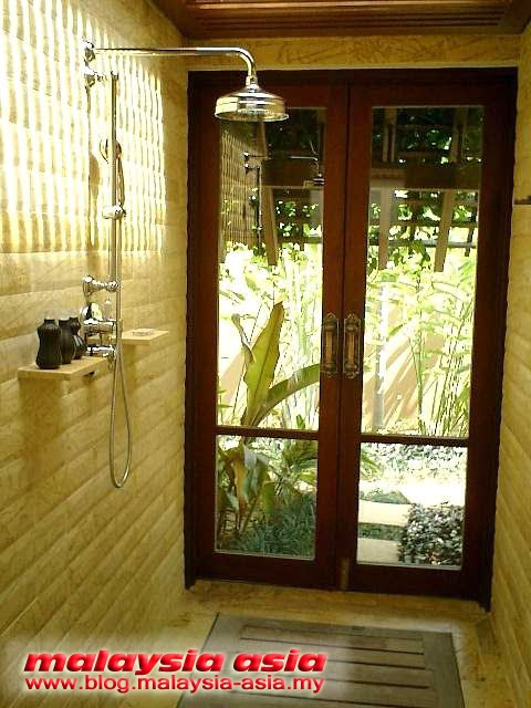 Outdoor Bathroom Four Seasons Langkawi