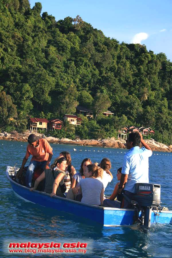 Water Taxi at Perhentian Island