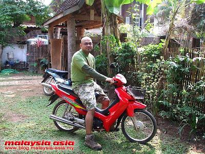 Motorbike Rental in Vientiane