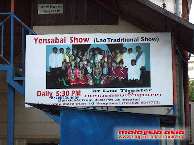 Traditional Lao Show Yensabai