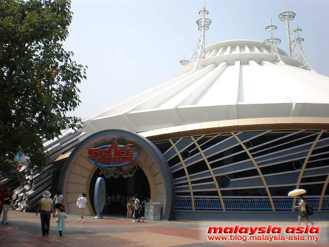 Hong Kong Disneyland Space Mountain