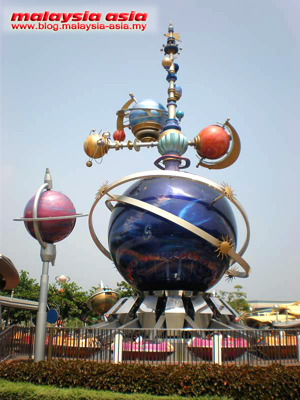 Hong Kong Disney Tomorrowland