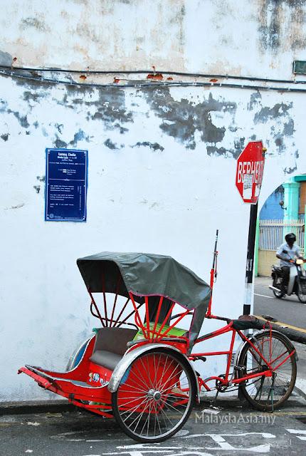 Rickshaw in Penang