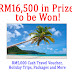 Travel Contest January 2011 - RM16,500 in Prizes to be won!