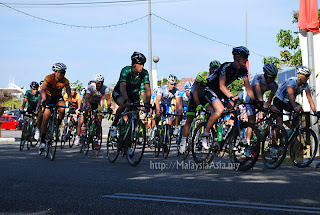 Starting of Le Tour De Langkawi