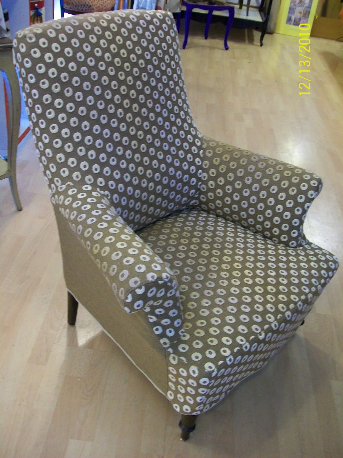 L 39 housse fauteuil anglais for Housse en anglais