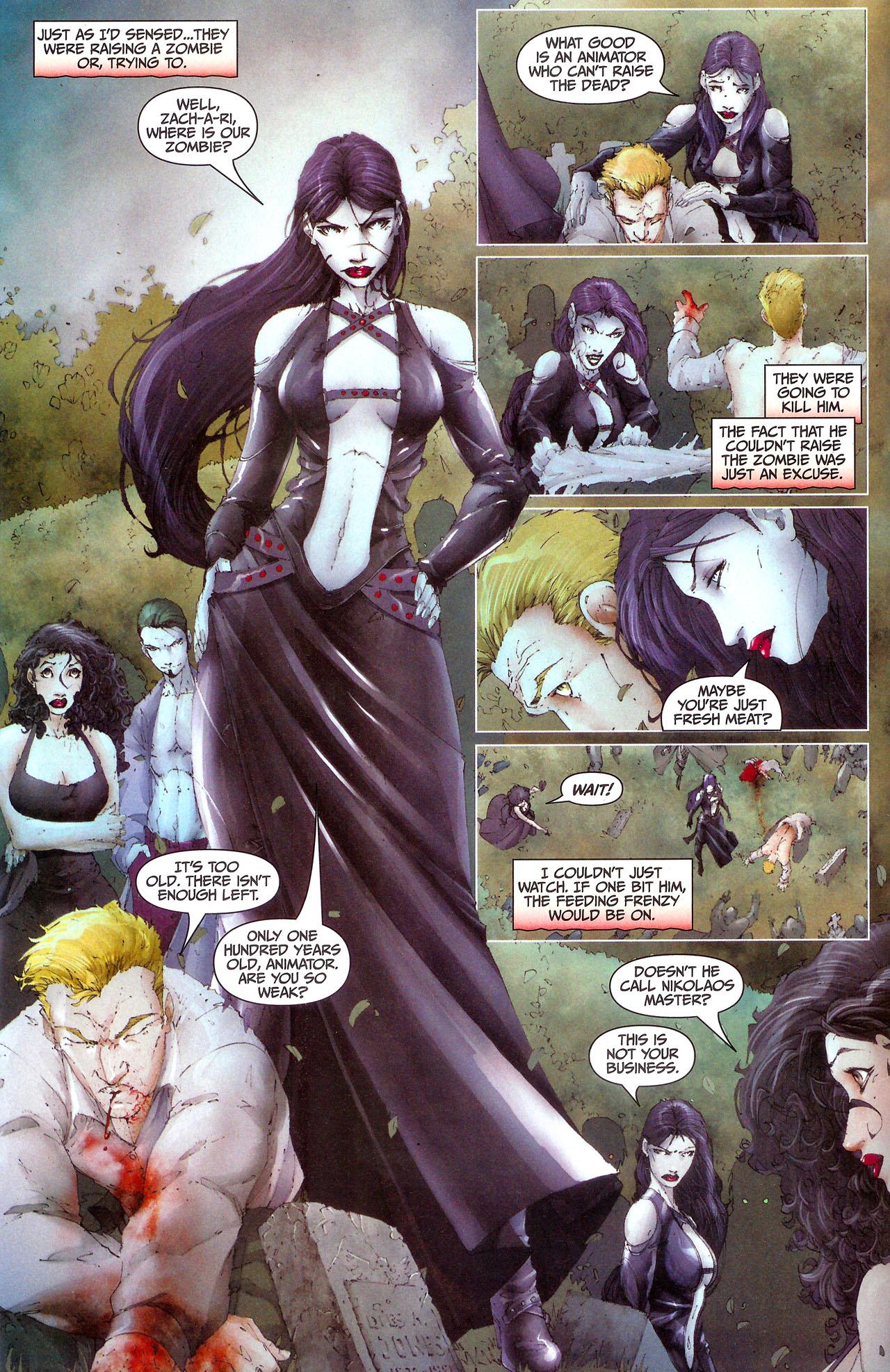 Read online Anita Blake, Vampire Hunter: Guilty Pleasures comic -  Issue #7 - 8