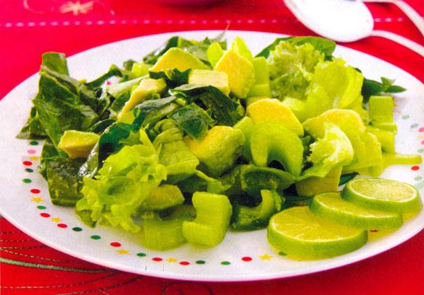ensaladas verdes sencillas - photo #2