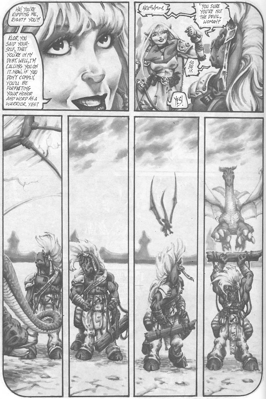 Read online Animal Mystic comic -  Issue #4 - 36