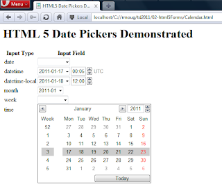 HTML5 Date Picker | JavaWorld