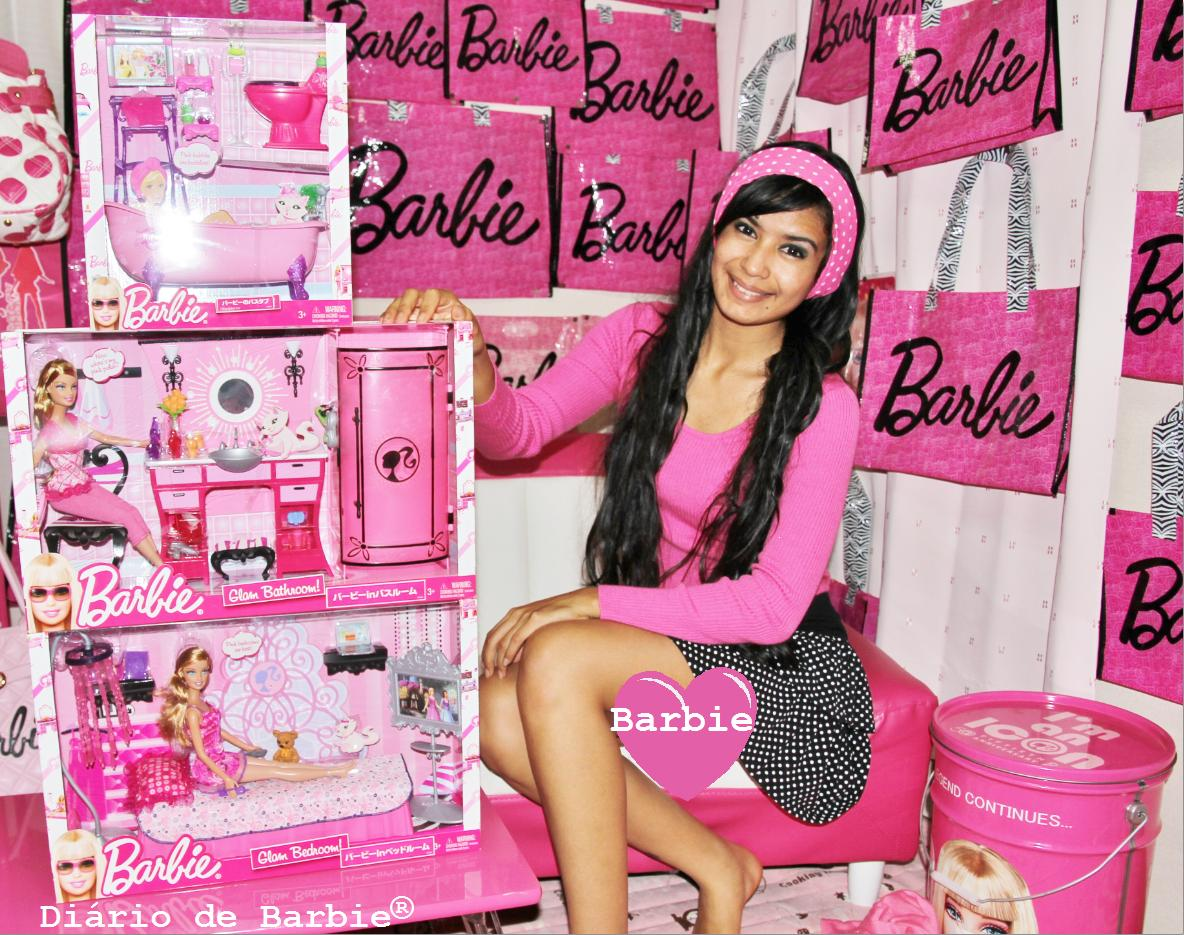 Di 225 Rio De Barbie By Lanna Pink Barbie Glam Set