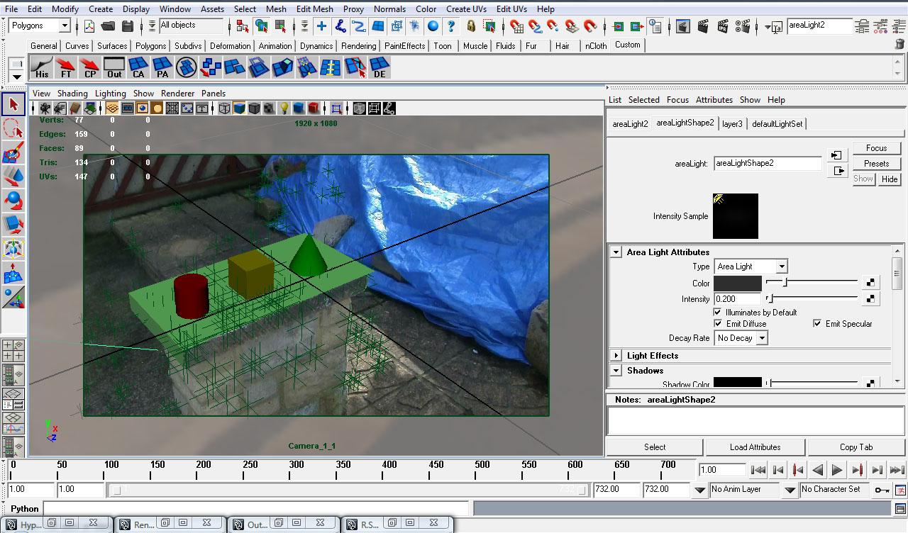 Boujou scene geometry tutorial pdf.