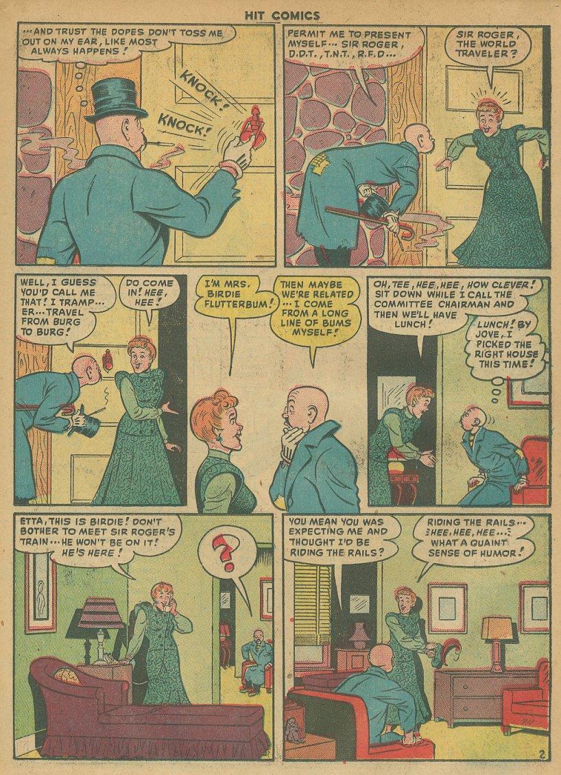 Read online Hit Comics comic -  Issue #61 - 17