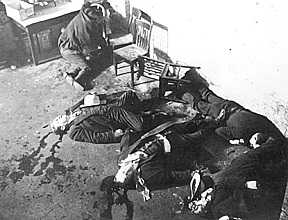 s Day massacre is the name given to the shooting of seven people  Saint Valentine's Day Massacre
