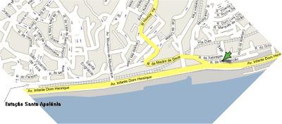 santa apolonia mapa Arquitectura do Ferro: Estação de Santa Apolónia santa apolonia mapa